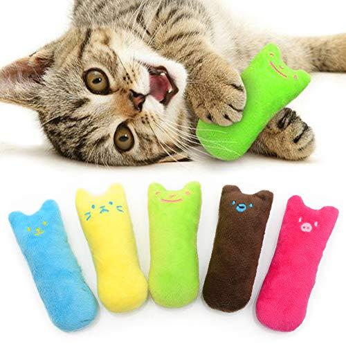 AnCoSoo Spielzeug mit Katzenminze, Katzenspielzeug Set aus...