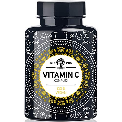 DiaPro® Natürliches Vitamin C Komplex 420 mg Tagesdosis 240 Kapseln...