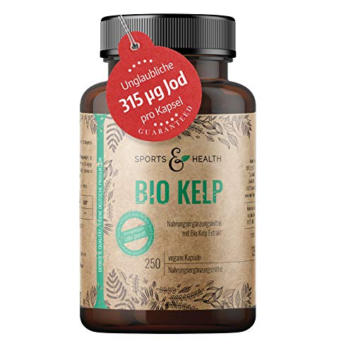 Kelp Bio Mit Kelp Extrakt Enthält 315 µg Natürliches Jod Und Iodine...
