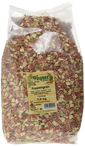 Wagner Gewürze Suppengrün Suppengemüse für Suppen, Brühe &...