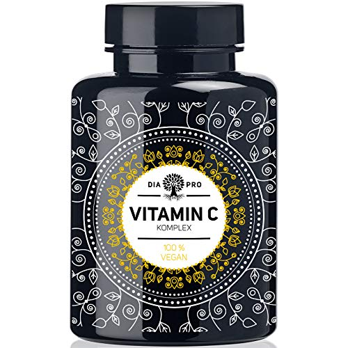 DiaPro Natürliches Vitamin C Komplex 420 mg Tagesdosis 240 Kapseln...