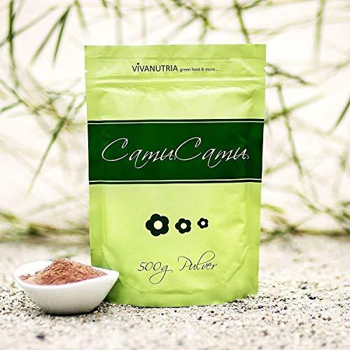 VivaNutria Camu Camu Pulver 500g I Camu Camu Vitamin C Pulver...