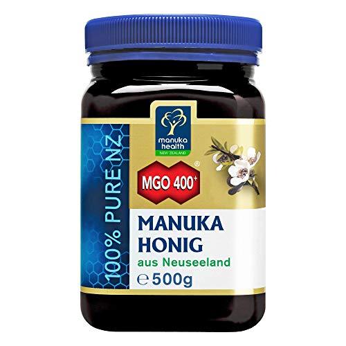 Manuka Health - Manuka Honig MGO 400+ 500g - 100% Pur aus Neuseeland...
