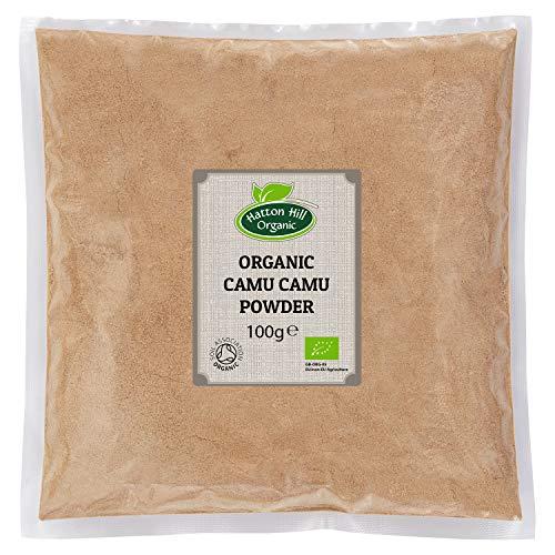 Bio Camu Camu Pulver 100g von Hatton Hill Organic – BIO zertifiziert