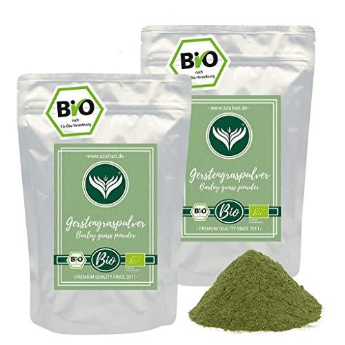 Azafran BIO Gerstengraspulver, Gerstengras Pulver aus DE oder AT 1kg
