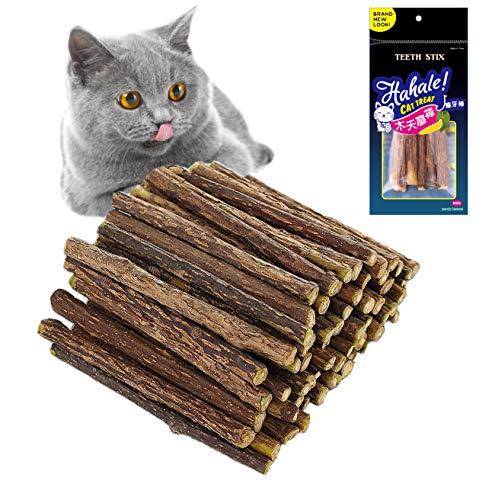 QIMMU 30 Stück Katzenminze Sticks zum Schleifen von Zähnen,...