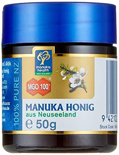 Manuka Health - Manuka Honig MGO 100 + (50g) - 100% Pur aus Neuseeland...
