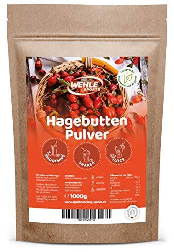 Hagebuttenpulver 1kg naturrein glutenfrei Rohkost-Qualität -...