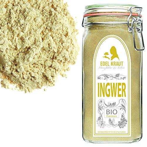 EDEL KRAUT | BIO INGWER GEMAHLEN im Premium GLAS - Ginger Powder...