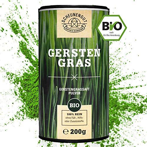 EINFÜHRUNGSANGEBOT Scheunengut® 100% Gerstengrassaft Pulver Bio...